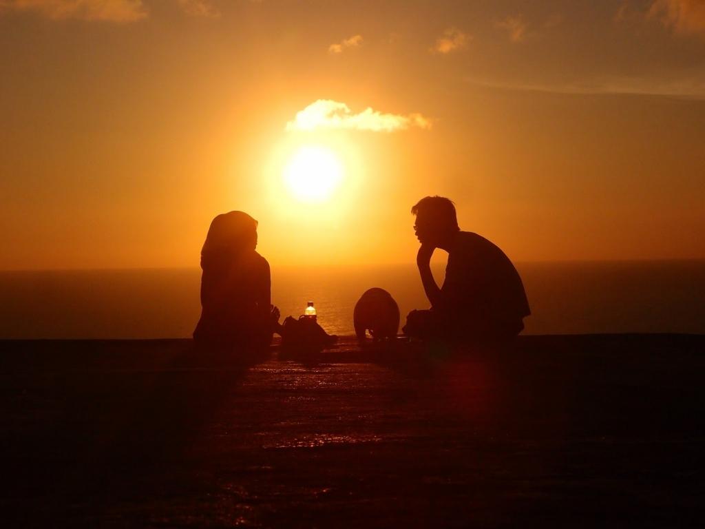 sunset bukit parang endok