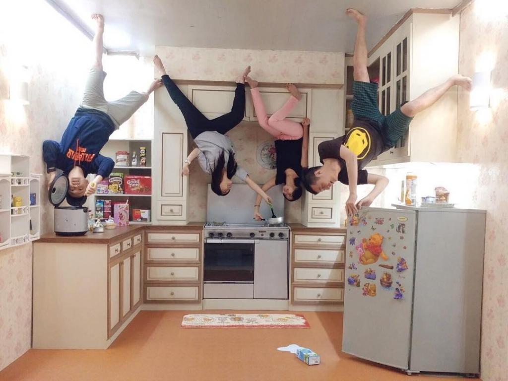 rumah terbalik di jogja